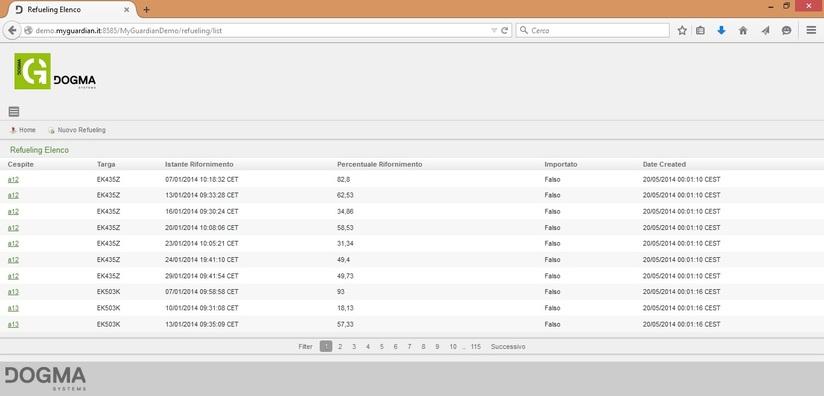 Demo Page Slider