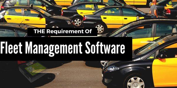 Requirement of Enterprise Fleet Management Solution