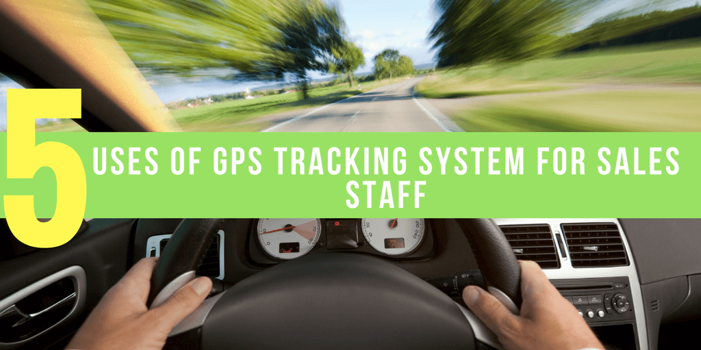 GPS Tracking System for Sales Staff