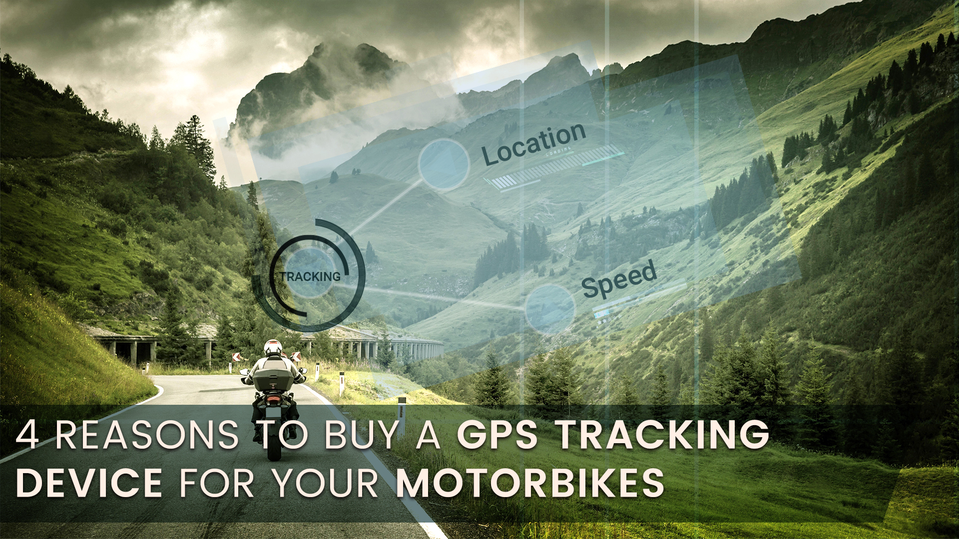 GPS Tracking Device for Motorbikes