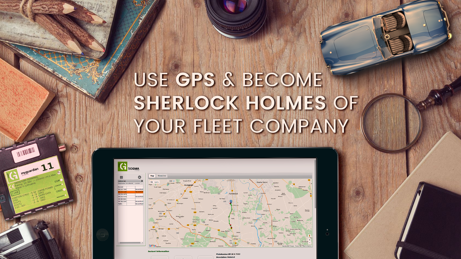 sherlock holmes with gps
