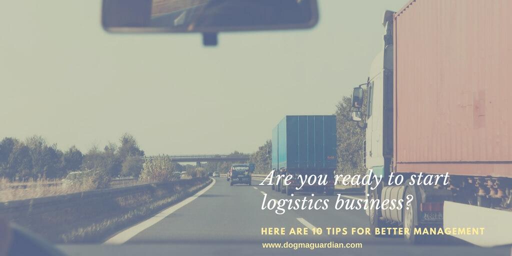 logistics management tips